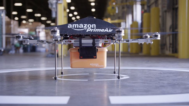 Amazon is testing the drones, but it could be four or five years before they are in use