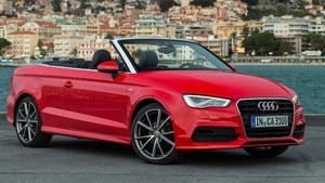 A3 Cabriolet's exterior is beautifully proportioned