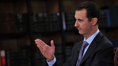 Bashar al-Assad said he has no intention of giving up power