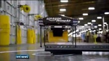 Amazon testing the use of unmanned drones for parcel delivery