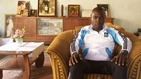 Looking at trafficking of soccer players out of Africa