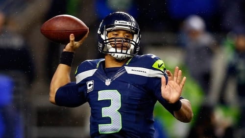Russell Wilson threw for 310 yards in total against Saints