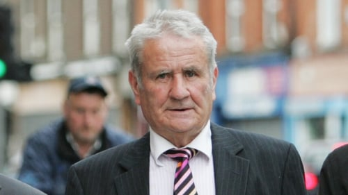 Owen Corrigan has denied he was a mole who passed on information to the IRA (Pic: Photocall/Leon Farrell)