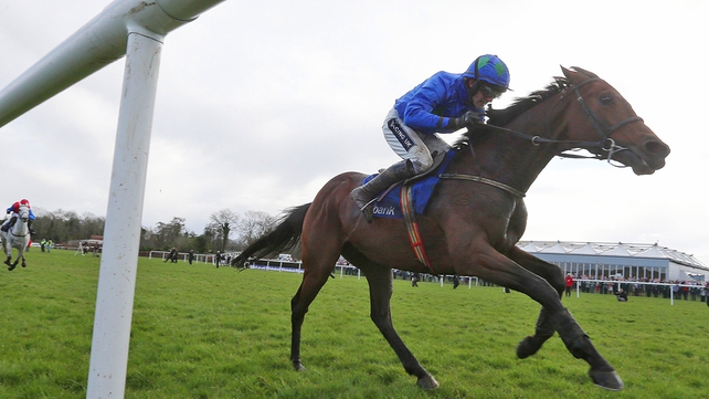 Hurricane Fly was unable to trouble the first three at the Champion Hurdle