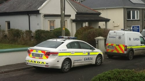 A number of private premises in Kilrush were searched during the operation (Pic: Jarlath Tierney)