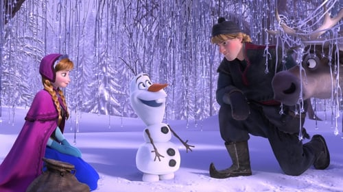 The Three Musketeers - Anna, snow boy Olaf and buddy Kristoff