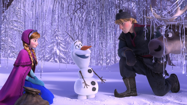 Frozen is top of the box office