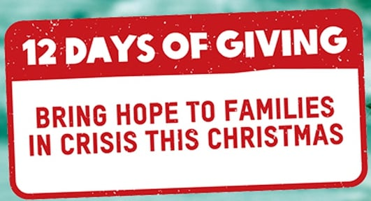 Oxfam's 12 Days Of Giving Campaign