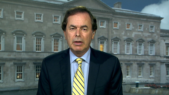 Alan Shatter made a statement on the controversy