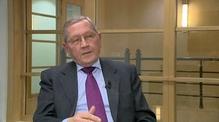 European Stability Mechanism MD Klaus Regling discusses bailout exit