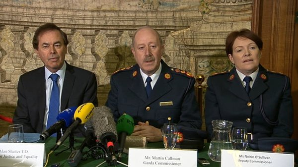 Martin Callinan said he accepted the conclusions arrived at by Judge Peter Smithwick