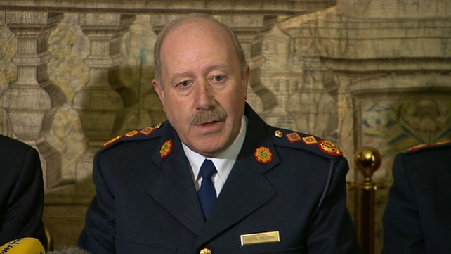 Martin Callinan said he and his officers were going through the report line by line