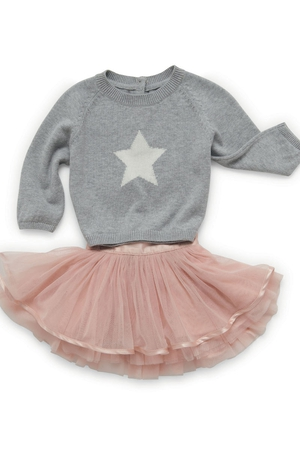 Marks & Spencer Girls Jumper from €16 and skirt from €26