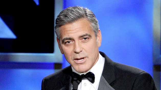 George Clooney: glad to be grey