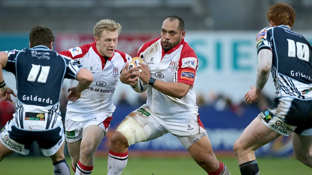 John Afoa joined Ulster from the Auckland Blues