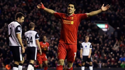 Luis Suarez looks likely to be offered a new contract at Anfield