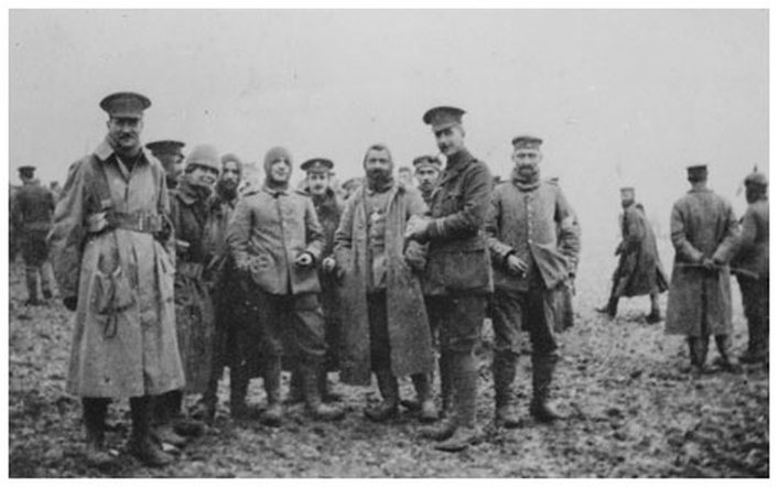100 years on - Remembering WWI's Christmas Truce