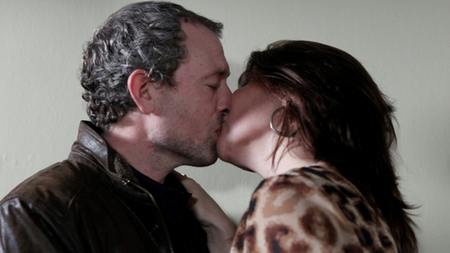 Dan kisses Carol