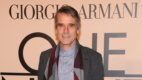 Jeremy Irons for The Man Who Knew Infinity