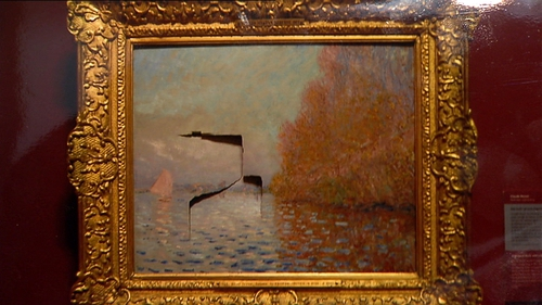 Shannon had pleaded not guilty to damaging a Claude Monet painting at the National Gallery of Ireland