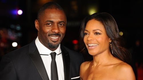 Naomie Harris and Mandela: Long Walk to Freedom co-star Idris Elba.