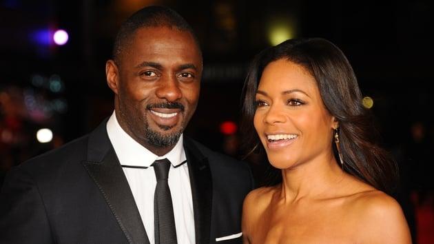 Naomie Harris and Mandela: Long Walk to Freedom co-star Idris Elba.