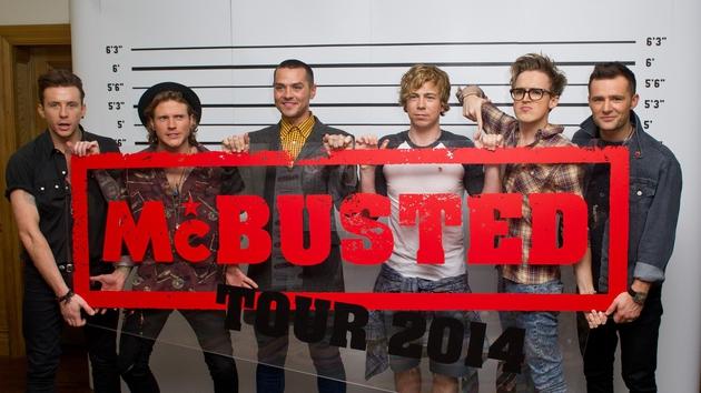 McBusted embrace bad band name