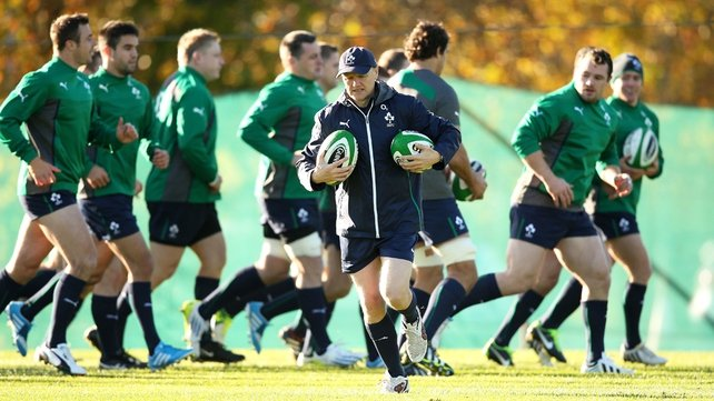 Joe Schmidt will be hoping for better luck in the 2014 autumn internationals