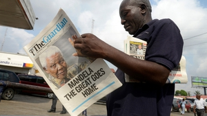 Nelson Mandela's death is front page news across the world