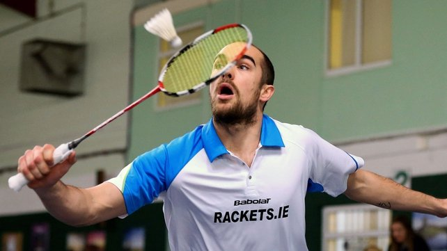 Reigning champion Scott Evans lost in the quarter-final