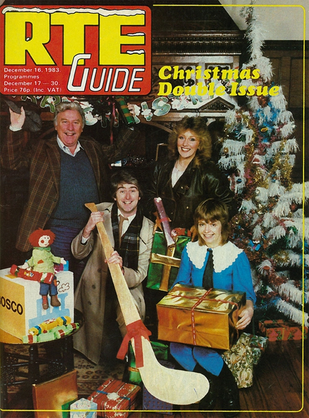 RTÉ Guide Christmas Cover, 1983