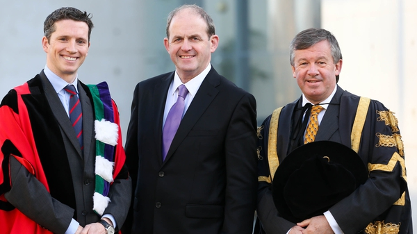 Frank Ryan (middle) named as the Chairperson designate of IDA Ireland