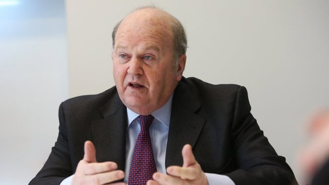 Michael Noonan before the Oireachtas Select Sub-Committee on Finance today