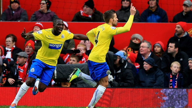 Yohan Cabaye got the winner