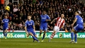 Stoke strike late to defeat Chelsea