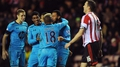 O'Shea own goal sinks Sunderland