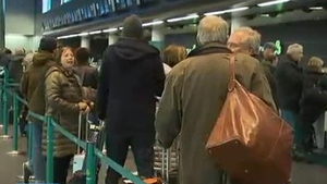 There were fears of further delays for passengers after technical problems with British NATS yesterday