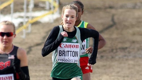 Fionnuala Britton was going for a third title in a row