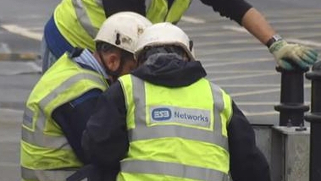 ESB Network said the damage may have been caused by recent heavy rain