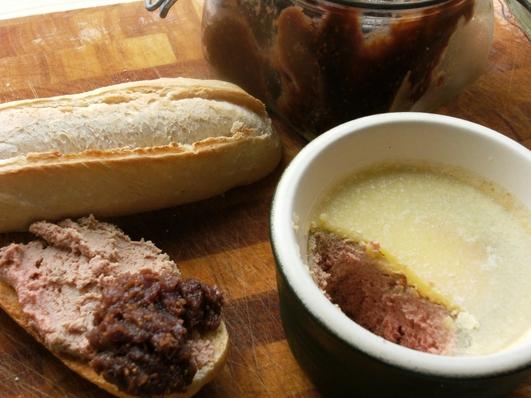Neven's Recipies - Chicken Liver Pâté with Onion Jam.