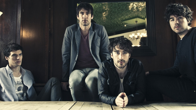 The Coronas are now label mates with U2 and Snow Patrol