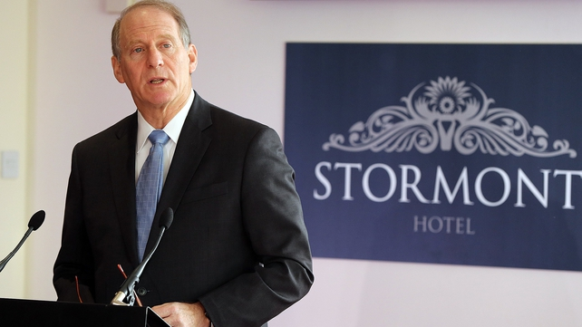 Richard Haass has said his target is to make meaningful progress before Christmas