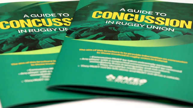 IRFU says anyone younger than 20 should sit out 23 days before returning to action