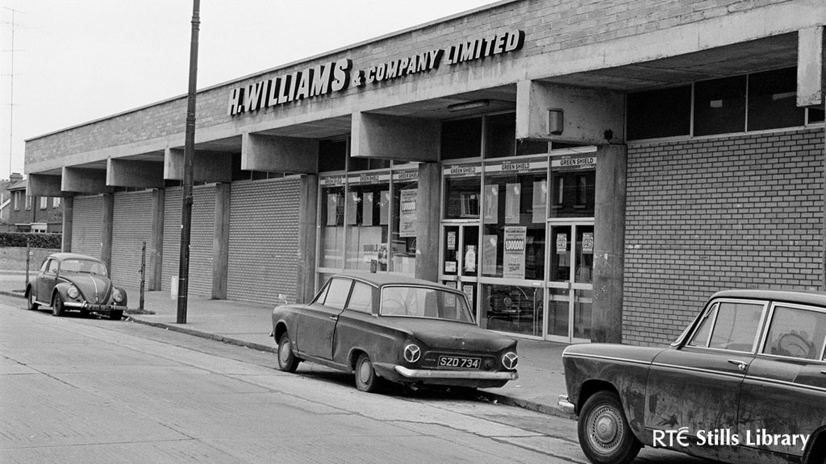 H. Williams Supermarket in Sandymount, Dublin 1972