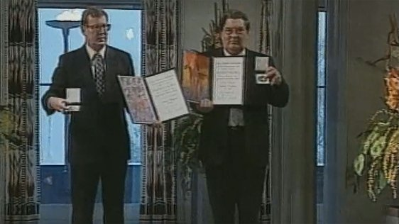 John Hume and David Trimble (1998)