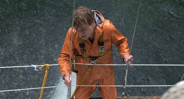 Robert Redford puts in the performance of his career as an unnamed sailor lost at sea