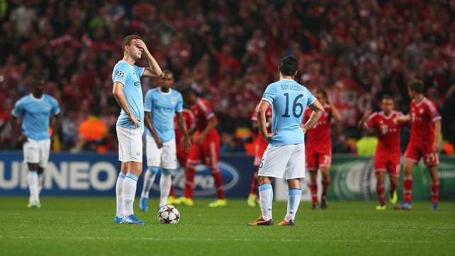 Manuel Pellegrini's side was outplayed at the Etihad in early October