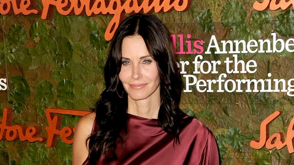 Courtney Cox wishes ex-husband well