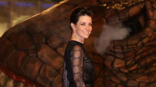 Evangeline Lilly opted for a gothic gown