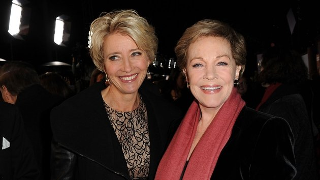 Emma Thompson and Julie Andrews
